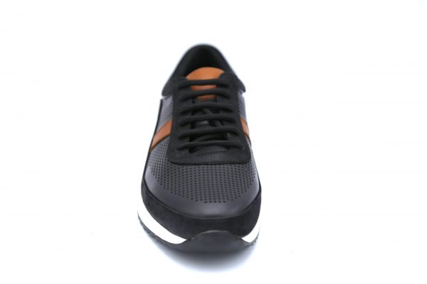 کفش بنددار چرم مردانه