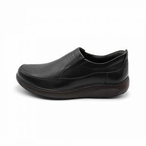 کفش چرم طبی مردانه طرحدار