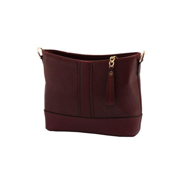 کیف اسپرت زرشکی زنانه
