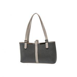 کیف دوشی طوسی زنانه