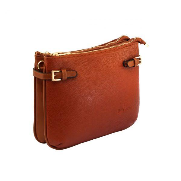 کیف دوشی عسلی زنانه