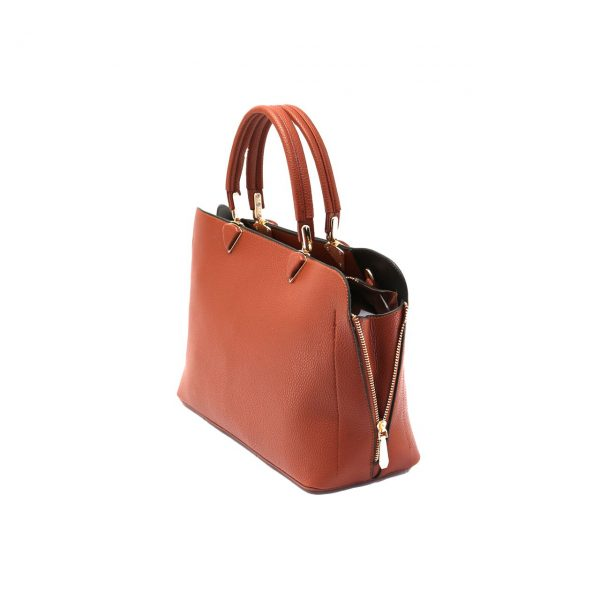 کیف آجری زنانه