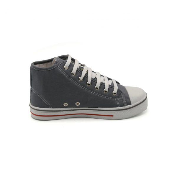 کفش کتانی طوسی