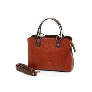 کیف چرم عسلی
