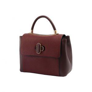 کیف دستی زرشکی زنانه