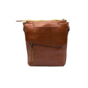 کیف چرم دوشی دو طرفه
