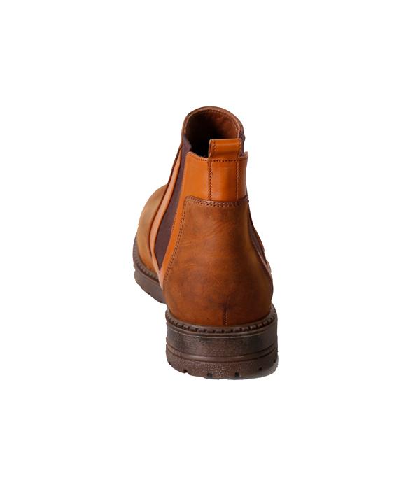 کفش نیم بوت مردانه تمام چرم