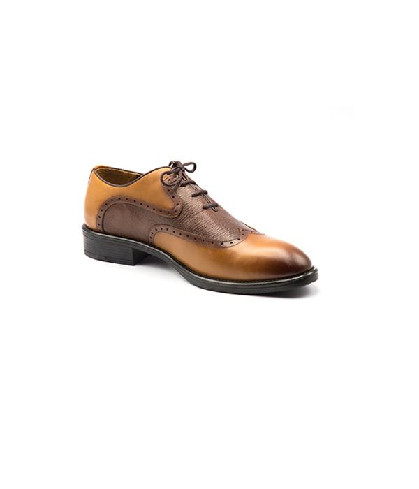 کفش چرم مردانه هشترک شیک