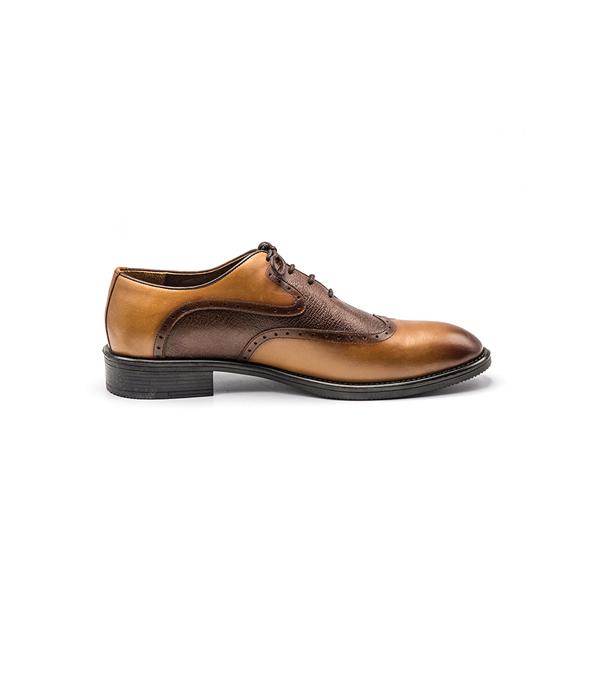 کفش چرم مردانه هشترک ضد تعریق