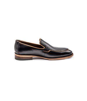 کفش تمام چرم کلاسیک مردانه خوش پا