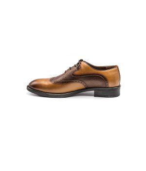 کفش چرم مردانه هشترک