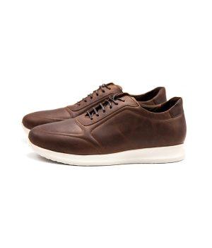 کفش چرم اسپورت مردانه