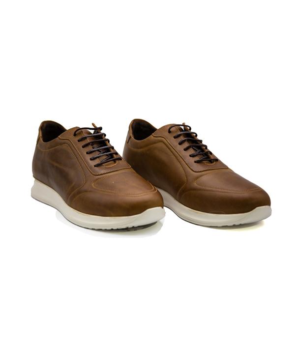 کفش چرم راحتی مردانه اسپرت