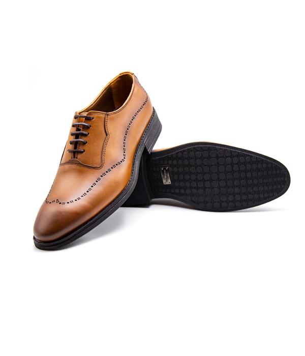 کفش چرم مردانه رسمی شیک