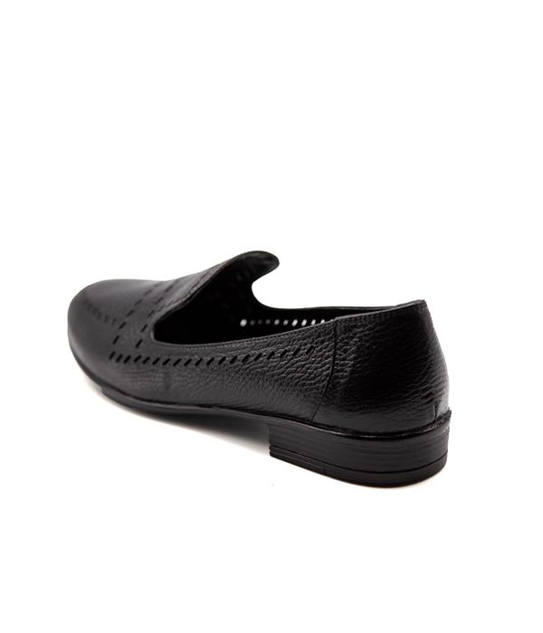 کفش چرم زنانه رسمی مناسب پیاده روی