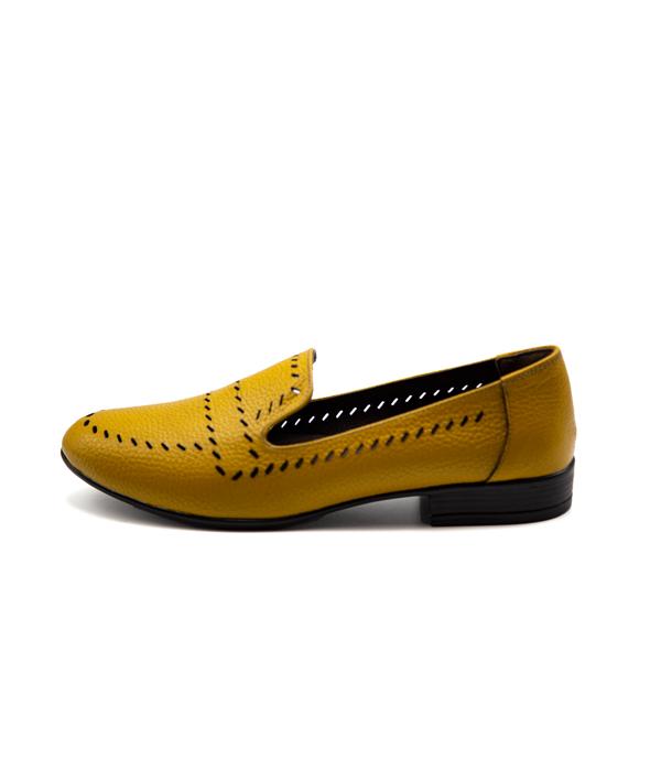 کفش چرم زنانه رسمی بسیار شیک