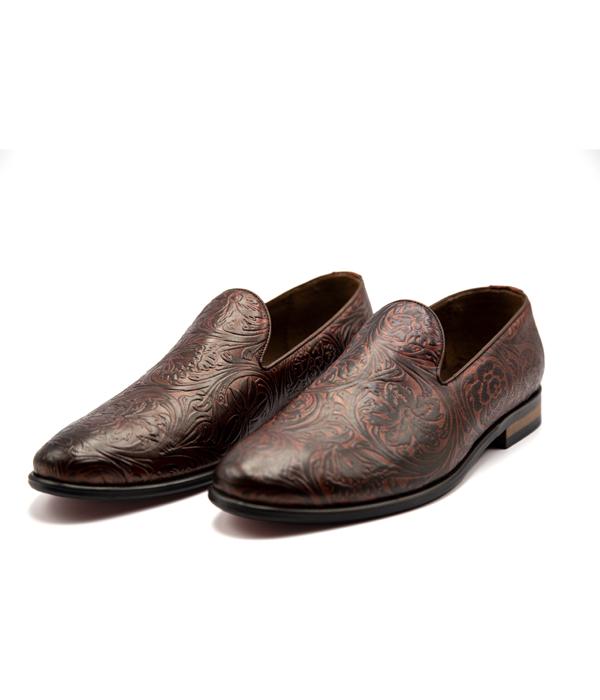 کفش تمام چرم مردانه مجلسی طبی