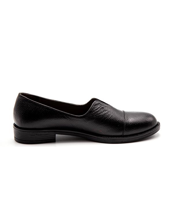 کفش چرم زنانه کلاسیک سبک