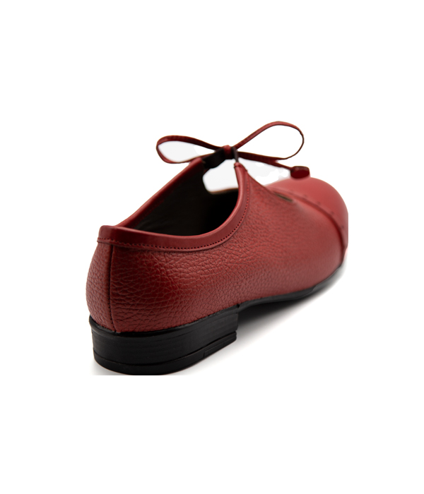 کفش تمام چرم زنانه رویه بندی مرغوب