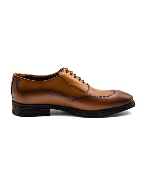 کفش چرم مردانه رسمی سبک