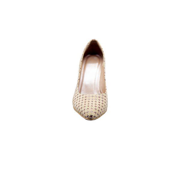 کفش پاشنه بلند چرم زنانه مجلسی