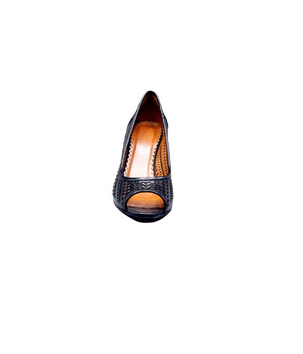 کفش چرم مجلسی زنانه راحتی