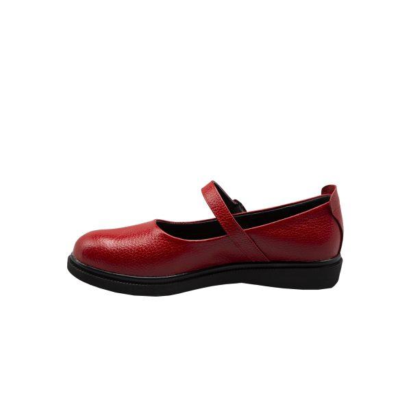 کفش چرم طبی زنانه بهاره