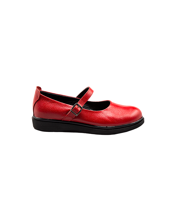 کفش چرم طبی زنانه