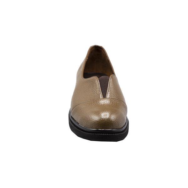 کفش چرم روزمره زنانه بسیار راحت